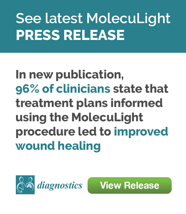 In new publication, 96% of clinicians state that treatment plans informed using the MolecuLight procedure led to improved wound healing.